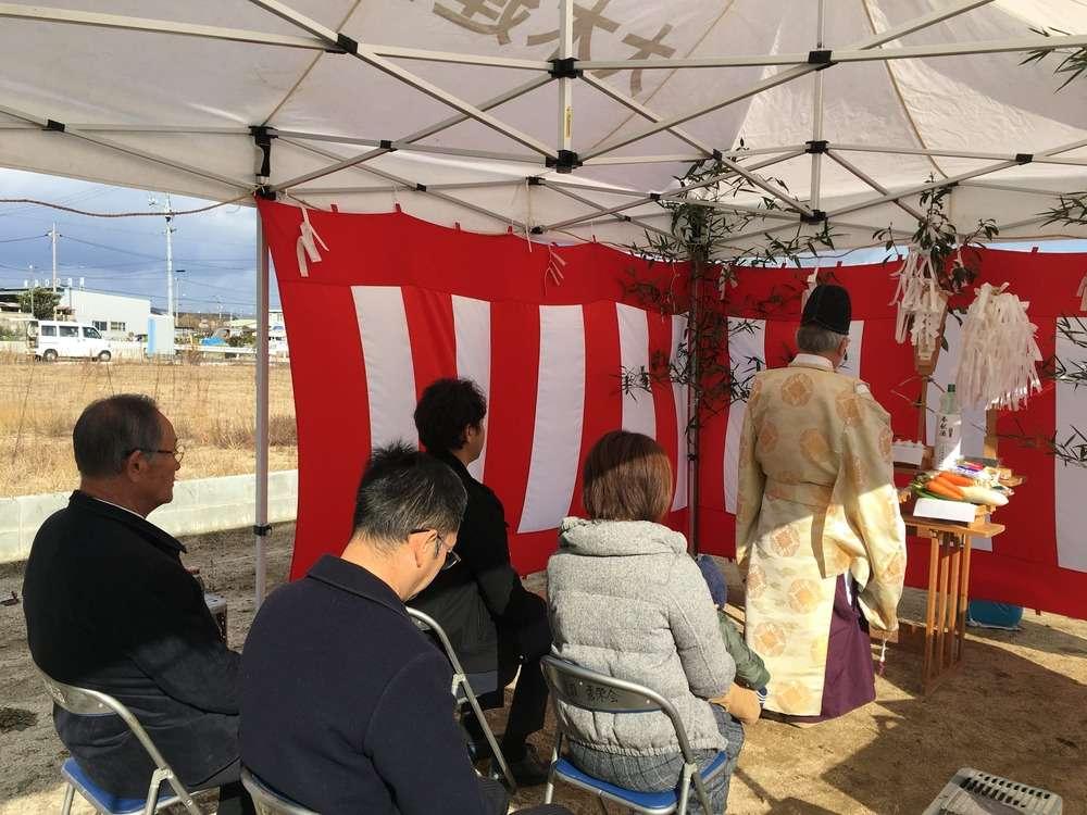 2017年12月13日 T様邸 地鎮祭・着工